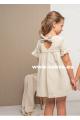 Vestido de niña en lino