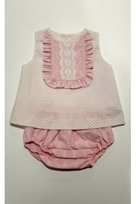 Jesusito de bebé en color rosa