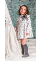 Vestido de niña con estampado de elefantes