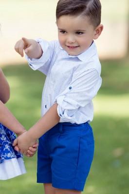 Conjunto de niño en color azulón