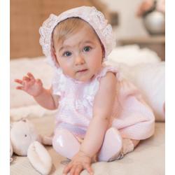 Vestido de bebé en color rosa