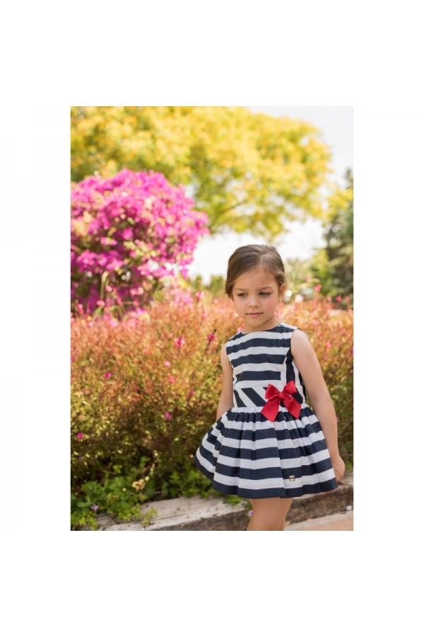Vestido de niña marinero
